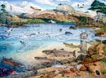 Loch Maree Fisheries and Wildlife Poster [click to enlarge]