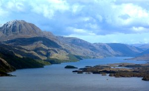 Loch Maree is the largest freshwater in the area